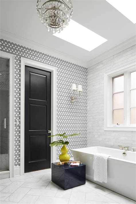 Black And White Bathroom Design by Beautiful Black And White Bathrooms Traditional Home