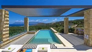 Unique, Traditional, Design, Villa, In, Crete