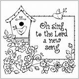 Coloring Singing Children Sunday Printable Getcolorings Sheets sketch template