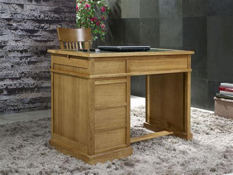 bureau chene massif petit bureau luc en chêne de style louis philippe surface