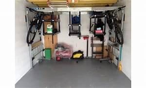 Rangement Suspendu Plafond Garage : support v lo pour le garage support v lo plafond pour faciliter le rangement de son garage ~ Melissatoandfro.com Idées de Décoration