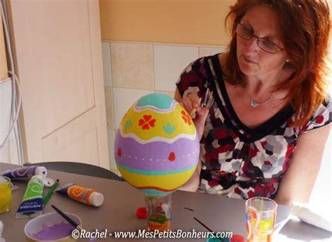 oeuf de p 226 ques d 233 co en papier m 226 ch 233 bricolage pour petits et grands œuf de p 226 ques