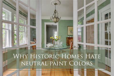neutral paint colors  historic homes