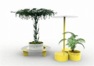 Jardinière Avec Treillage : jardini re abri treillage lud nos mobiliers urbains ~ Melissatoandfro.com Idées de Décoration