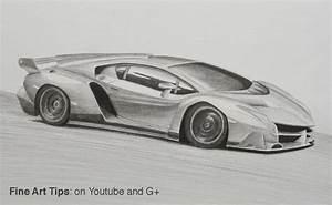 How to Draw a Lamborghini Veneno YouTube