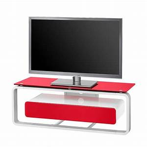 Tv Möbel Rot : tv rack shanon wei glas rot 110 cm maja m bel online bestellen ~ Whattoseeinmadrid.com Haus und Dekorationen
