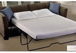 The deluxe coolmaxr sofa mattress w memory foam sofa bed for Sofa bed mattress 60 x 72