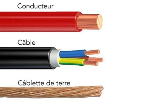 type de cable electrique les diff 233 rents types de c 226 bles utilis 233 s en courant fort leroy merlin