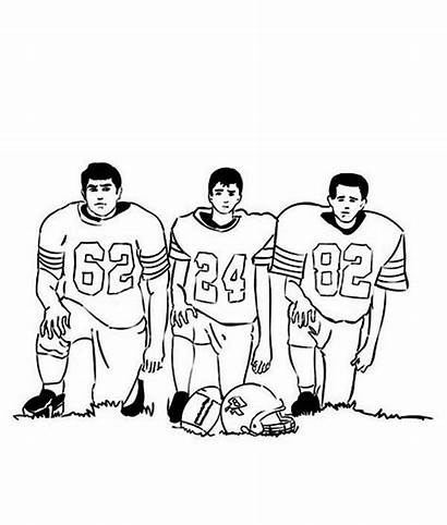 Coloring Nfl Player Football Pages Sheets Colorluna