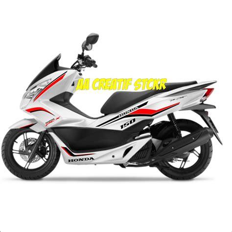 Gambar Motor Honda Pcx Electric by Gambar Stiker Motor Pcx Tulisanviral Info