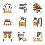 Paintball Icon Packs Elements Gun Icons