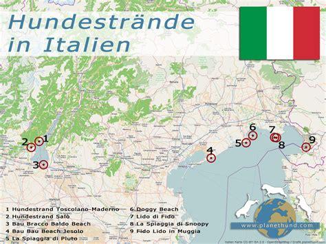 hundestraende  italien reisen mit hund planet hund