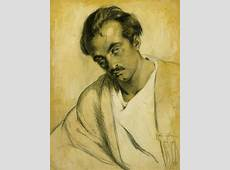 Portrait of Kahlil Gibran Smithsonian American Art Museum