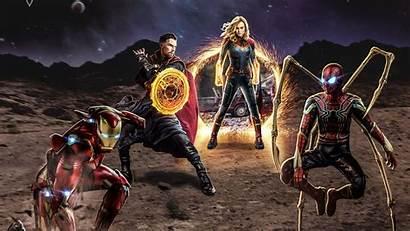 Avengers Wallpapers End 4k Marvel Assemble Pixel4k