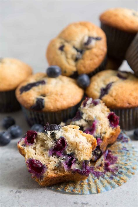 banana blueberry muffins   epicurean