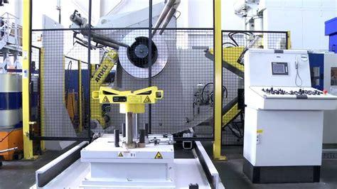 ARKU compact press feeding line ENG - YouTube