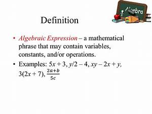Variables and Expressions - ppt video online download