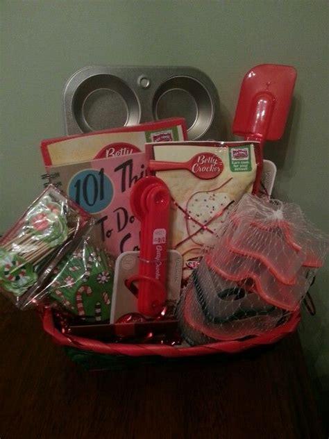 baking gift basket christmas gift basket idea dollar
