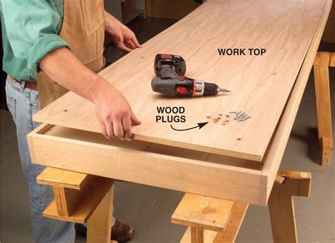 torsion box workbench  expandable assembly table