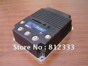 Genuine Curtis Pmc 1244 5561 36v 48v 500a Sepex Dc Motor