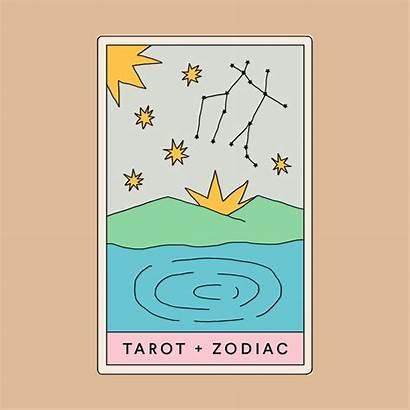 Tarot Zodiac Astrology Sign Card Signs Meet