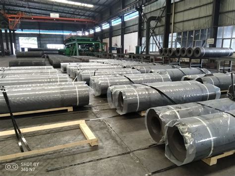 electric arc furnace eaf graphite electrodes  uhp electrode mm length
