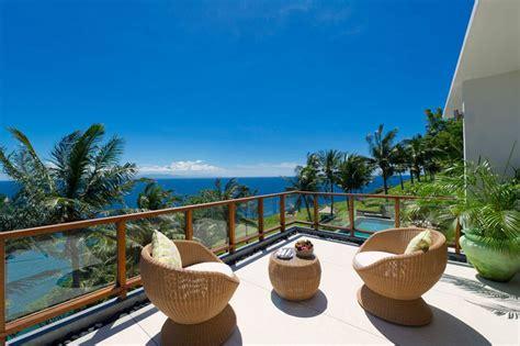 contemporary tropical hillside villa  indonesia