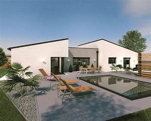 1000 idees sur le theme maison toit plat sur pinterest With attractive idee maison plain pied 2 photo de maison darchitecte plain pied