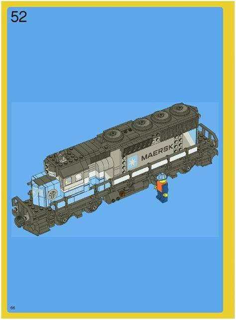 Lego Maersk Train Instructions 10219, Trains