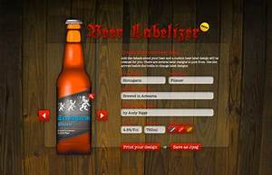 Nice online beer label generator design inspiration for Beer label generator