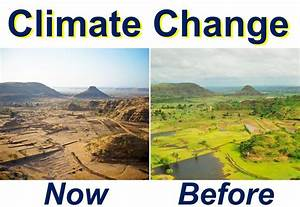 Climate change before and now - Market Business News