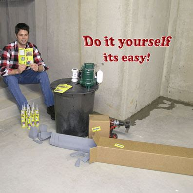 Do It Yourself Basement Waterproofing