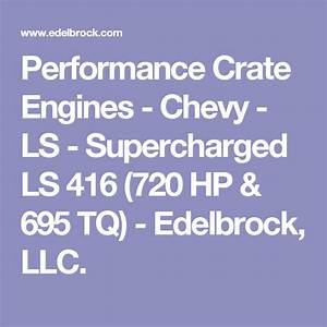 Performance Crate Engines - Chevy - Ls