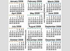 Hijri Months calendar yearly printable