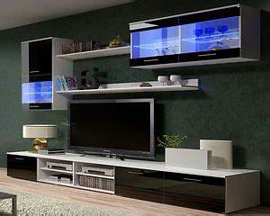 tv wall units tv stand tv cabinets high gloss black With ikea black gloss living room furniture