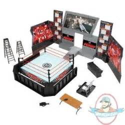Wwe Ring Beds by Wwe Raw Arena Playset Ring Jakks Exclusive Tables Chair