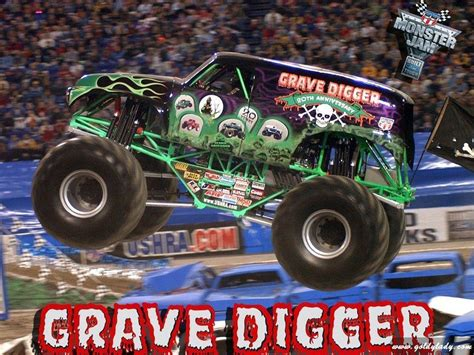 grave digger monster truck images grave digger wallpapers wallpaper cave