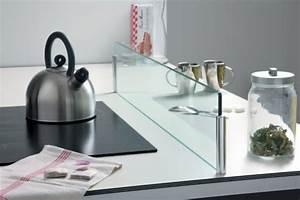 Crédence Cuisine En Verre : cr dence en verre pour lot de cuisine ~ Premium-room.com Idées de Décoration