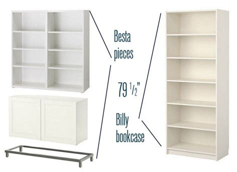 Bookcase Idea besta billy amp brass bookcases centsational style
