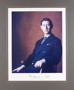 Charles Prince of Wales Autograph Signed Photo