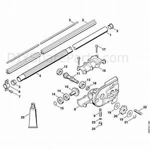 Stihl Ht 70 Pole Pruner  Ht70  Parts Diagram  H