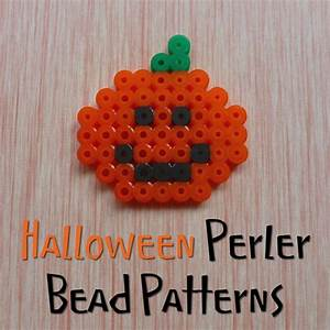 Halloween Perler Bead Patterns and Ideas
