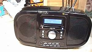 Radiosophy Hd100 Am  Fm Hd Table Radio Review