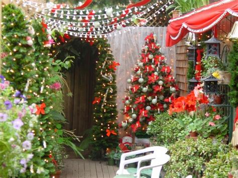 28 home and garden christmas decorations outdoor rustic