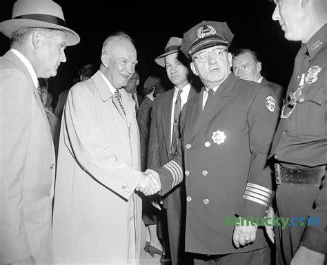 president eisenhower lexington police chief