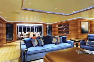 Rising Sun Yacht Interior Photos