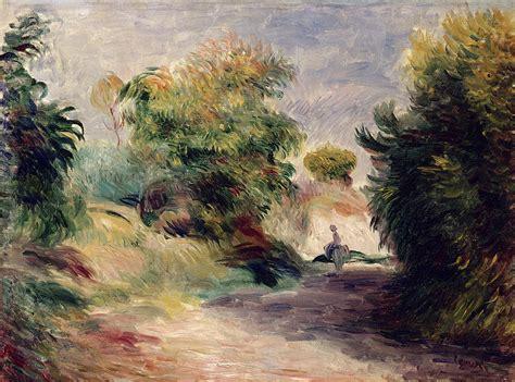 Landscape Near Cagnes Painting By Pierre Auguste Renoir