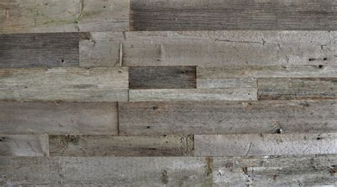 diy reclaimed wood accent wall grey shades mixed widths
