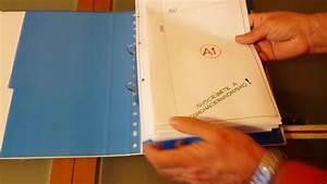 Plieuse De Plans A1 En A4 Pour Classeur  U00e0 Anneaux