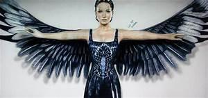 Katniss Everdeen Drawing Mockingjay dress by ...